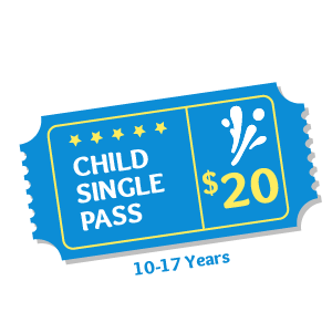 Child Pass Aqua Fun Park Water Fun Park for kids & adults