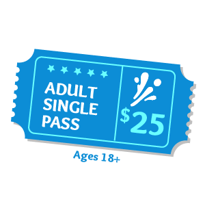 Adult Pass Aqua Fun Park Water Fun Park for kids & adults